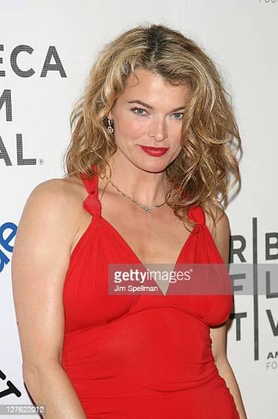 Stephanie Romanov attends the Tribeca Film Festival and Cinema Society premiere of 'Last Night' at BMCC Tribeca PAC on April 25 2011 in New York City