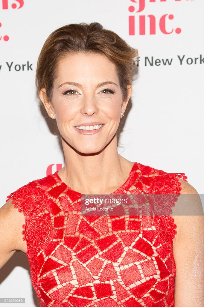 Stephanie Ruhle attends '2016 Girls Inc Spring Luncheon' at The Metropolitan Club on April 28, 2016 in New York City.