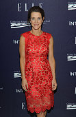 Stephanie Ruhle attends a reception hosted by ELLE EditorinChief Robbie Myers and Center for American Progress President Neera Tanden sponsored by...