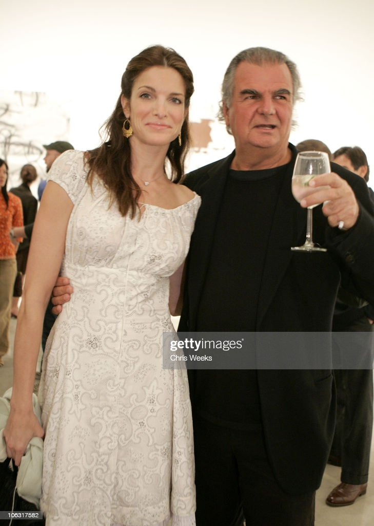 Stephanie Seymour and Patrick Demarchelier during Christopher Wool Opening Reception at Gagosian Gallery at Gagosian Gallery in Beverly Hills...