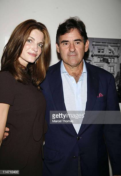 Stephanie Seymour and Peter Brandt during 'Andy Warhol A Documentary Film' Private New York Screening at The Museum of Modern Art in New York City...