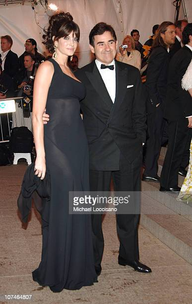 Stephanie Seymour and Peter Brandt during 'Chanel' Costume Institute Gala Opening at the Metropolitan Museum of Art Arrivals at Metropolitan Museum...