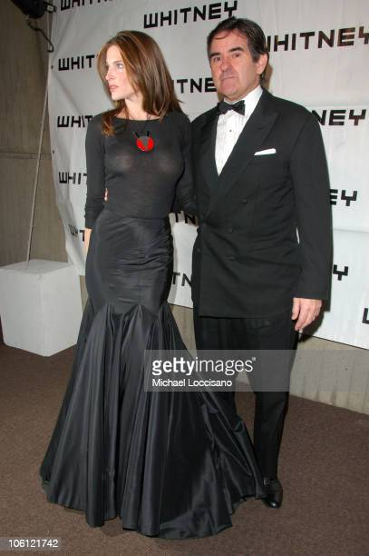 Stephanie Seymour and Peter Brant during 2006 Whitney Gala Celebrating Picasso and American Art Arrivals at The Whitney Museurmof American Art in New...