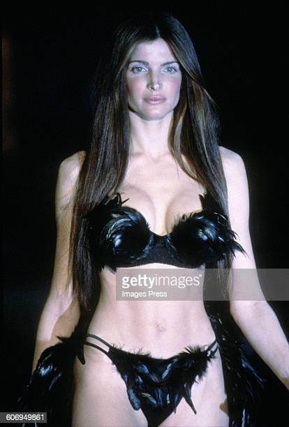 Stephanie Seymour at the 1999 Victoria's Secret Fashion show circa 1999 in New York City