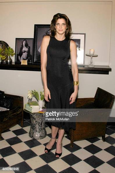 Stephanie Seymour attends Stephanie Seymour and Patrice Kretz Celebrate the Chantelle Ad Campaign at The Gramercy Park Hotel Private Roof Club and...