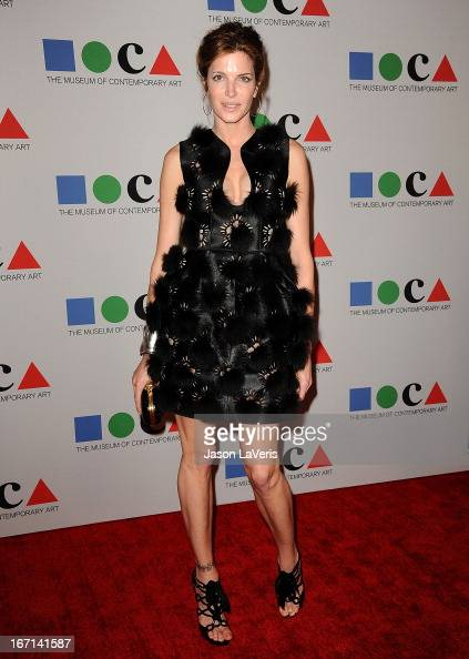 Stephanie Seymour attends the 2013 MOCA Gala at MOCA Grand Avenue on April 20 2013 in Los Angeles California