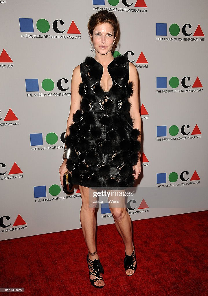 Stephanie Seymour attends the 2013 MOCA Gala at MOCA Grand Avenue on April 20, 2013 in Los Angeles, California.