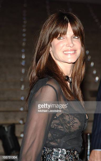 Stephanie Seymour during 4th Annual Tribeca Film Festival Vanity Fair Party at New York Supreme Court in New York City New York United States