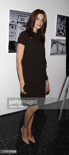 Stephanie Seymour during 'Andy Warhol A Documentary Film' Private New York Screening at The Museum of Modern Art in New York City New York United...