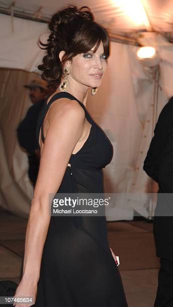 Stephanie Seymour during 'Chanel' Costume Institute Gala Opening at the Metropolitan Museum of Art Departures at The Metropolitan Museum of Art in...