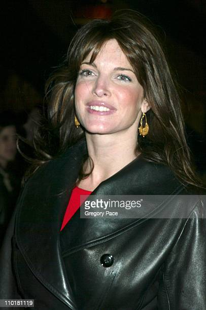 Stephanie Seymour during Cirque du Soleil's Latest Production 'Varekai' Grand Opening at Randall's Island Park in New York City New York United States