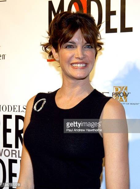 Stephanie Seymour during Ford Models' Supermodel of The World World Finals New York at New York Public Library in New York City New York United States