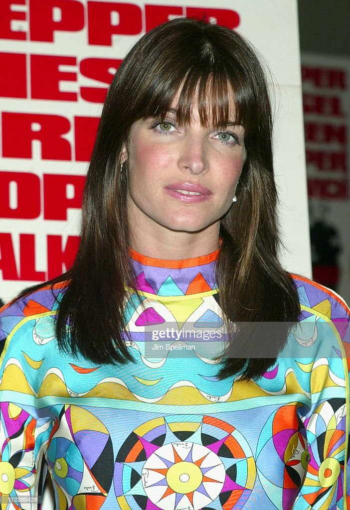Stephanie Seymour during 'Knockaround Guys' Premiere - New York at AMC Empire 25 Theatre in New York City, New York, United States.