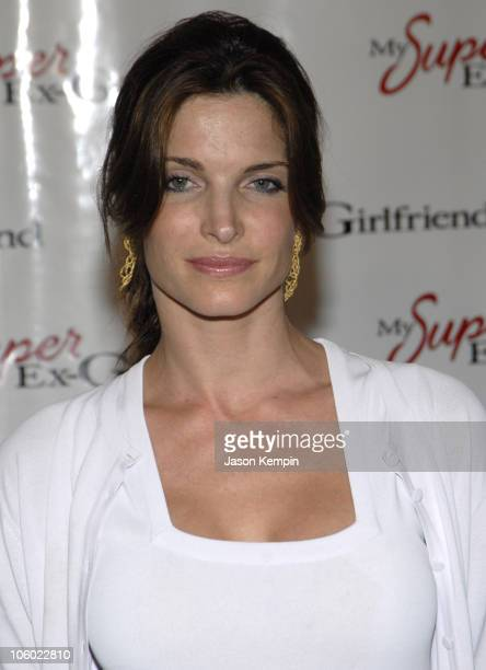 Stephanie Seymour during 'My Super ExGirlfriend' New York Premiere at Chelsea Clearview Cinema in New York City New York United States