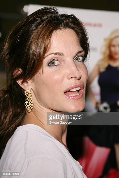 Stephanie Seymour during Twentieth Century Fox Premiere of 'My Super ExGirlfriend' Arrivals at Clearview Chelsea 23rd Street in New York New York...