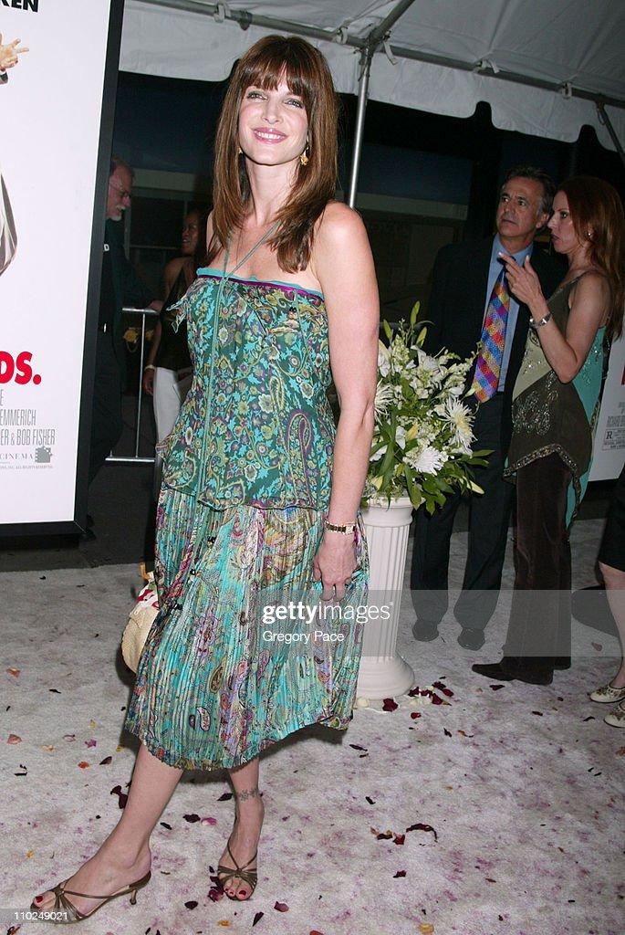 Stephanie Seymour during 'Wedding Crashers' New York City Premiere - Arrivals at Ziegfeld Theater in New York City, New York, United States.