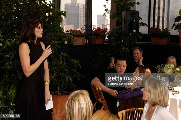Stephanie Seymour Jim Shi and Patrice Kretz attend Stephanie Seymour and Patrice Kretz Celebrate the Chantelle Ad Campaign at The Gramercy Park Hotel...