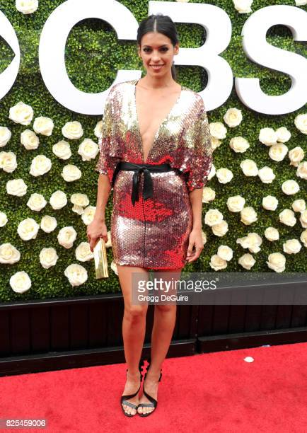 Stephanie Sigman arrives at the 2017 Summer TCA Tour CBS Television Studios' Summer Soiree at CBS Studios Radford on August 1 2017 in Studio City...