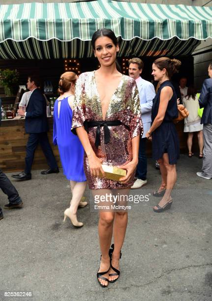 Stephanie Sigman attends the 2017 Summer TCA Tour CBS Television Studios' Summer Soiree at CBS Studios Radford on August 1 2017 in Studio City...