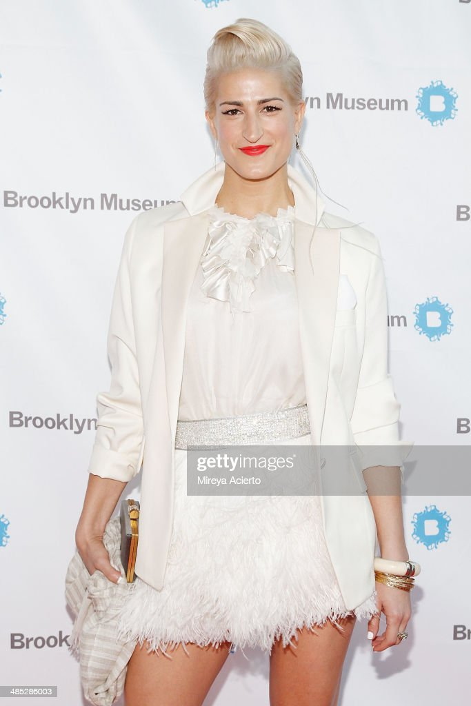 Stephanie Simon attends the Brooklyn Museum's 4th annual Brooklyn Artists Ball on April 16, 2014 in the Brooklyn borough of New York City.