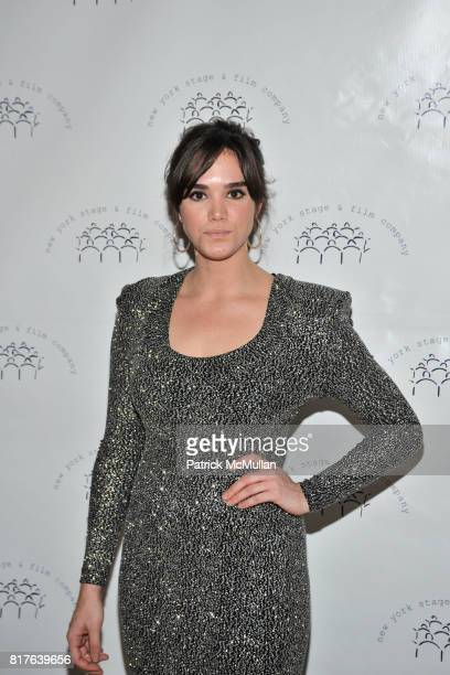 Stephanie Smart attends New York Stage and Film Honors LAURA LINNEY and JORDAN ROTH at Annual Winter Gala at The Plaza Hotel on December 12 2010 in...