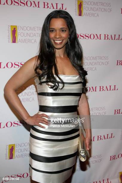Stephanie St James attends The BLOSSOM BALL To Benefit The Endometriosis Foundation of America at The Prince George Ballroom on April 20 2009 in New...