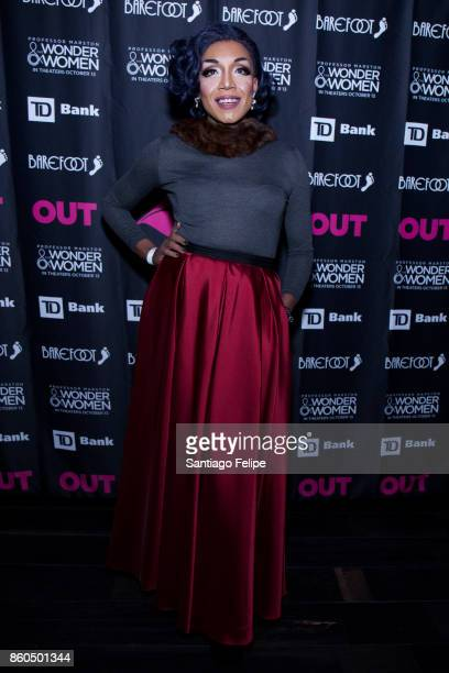 Stephanie Stone attends Out Magazine 25th Anniversary Celebration at PHD Rooftop Lounge at Dream Downtown on October 11 2017 in New York City