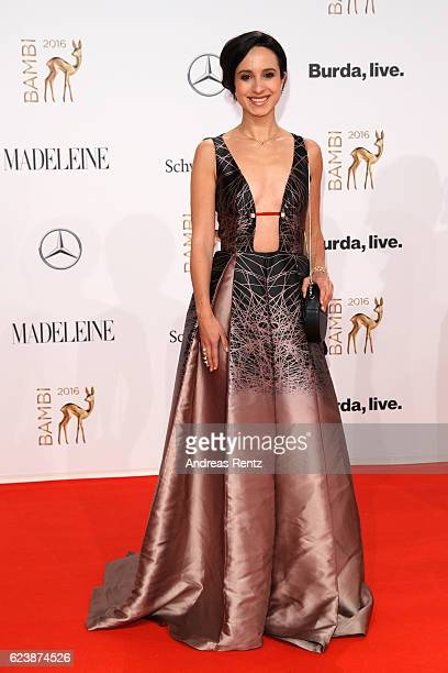 Stephanie Stumph arrives at the Bambi Awards 2016 at Stage Theater on November 17 2016 in Berlin Germany