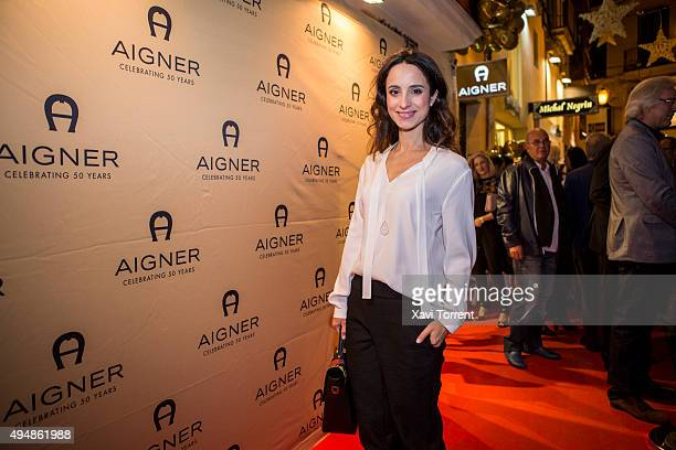 Stephanie Stumph attends the AIGNER store opening party on October 29 2015 in Palma de Mallorca Spain