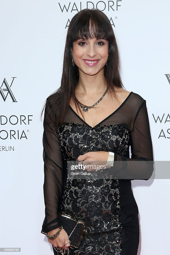 Stephanie Stumph attends 'Waldorf Astoria Berlin Grand Opening' at Waldorf Astoria Berlin on February 27, 2013 in Berlin, Germany.