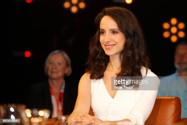 Stephanie Stumph is seen during the NDR Talk Show on May 19 2017 in Hamburg Germany