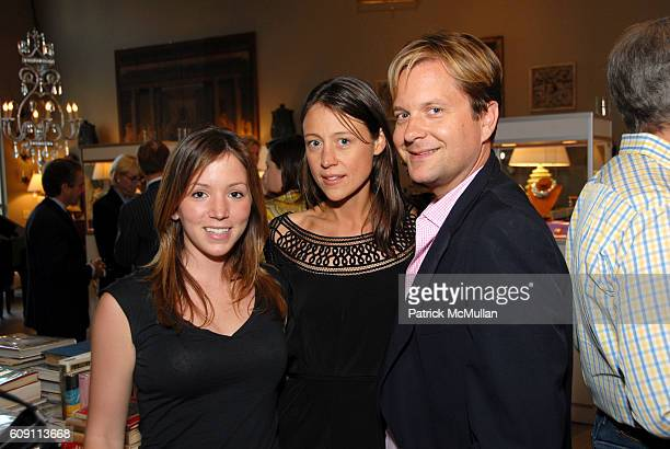 Stephanie Turner Chiara De Rege and Nathan Turner attend Cocktails at Hollyhock Honoring Mish NY and the Breast Center at UCLA at West Hollywood on...