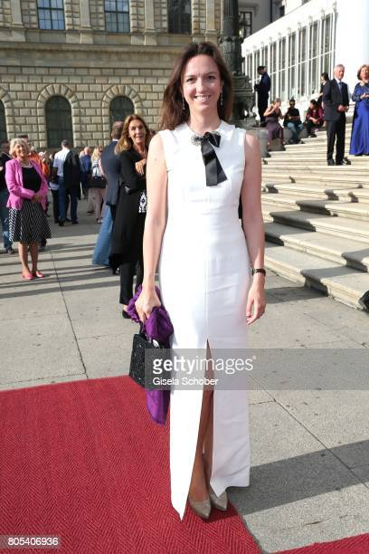 Stephanie von Luttitz during the opening of the opera festival and premiere of 'Die Gezeichneten' at Nationaltheater on July 1 2017 in Munich Germany