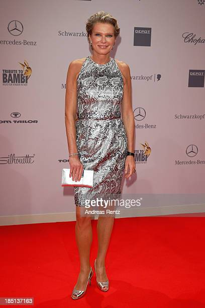 Stephanie von Pfuel arrives at Tribute To Bambi at Station on October 17 2013 in Berlin Germany