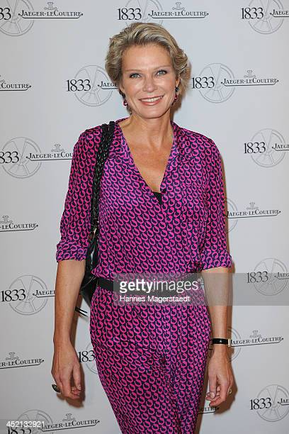 Stephanie von Pfuel attends JaegerLeCoultre Cocktail at Charles hotel on November 26 2013 in Munich Germany