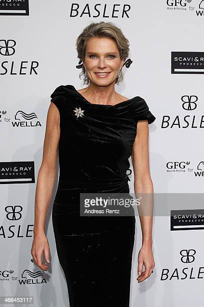 Stephanie von Pfuel attends the Basler fashion show on February 1 2014 in Dusseldorf Germany