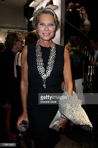Stephanie von Pfuel attends the Karl Lagerfeld store opening on September 4 2013 in Munich Germany