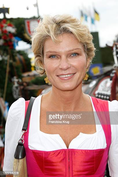 Stephanie von Pfuel attends the 'Sixt Damenwiesn' as part of the Oktoberfest beer festival at Hippodrom beer tent on September 24 2012 in Munich...