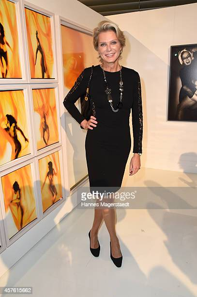 Stephanie von Pfuel attends the Vernissage 'Frauenbilder in der zeitgenoessischen Fotografie' at MERCEDES BENZ on October 21 2014 in Munich Germany