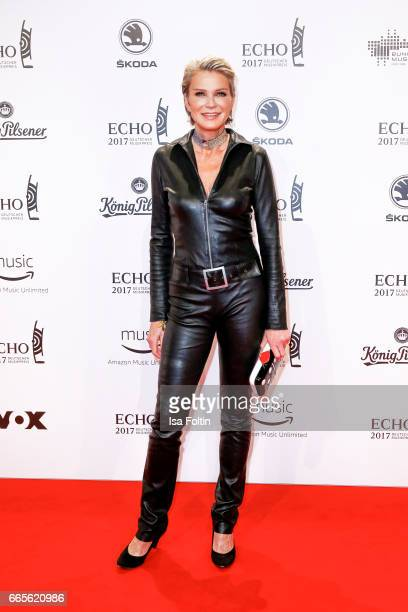 Stephanie von Pfuel during the Echo award red carpet on April 6 2017 in Berlin Germany