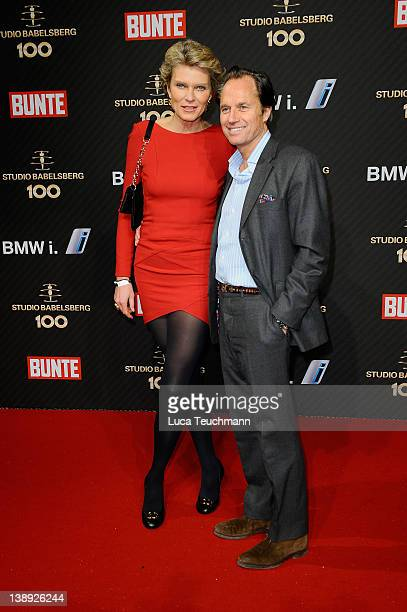 Stephanie von Pfuel Hendrik teNeues attend the Babelsberg 100th Anniversary Party during day five of the 62nd Berlin International Film Festival at...