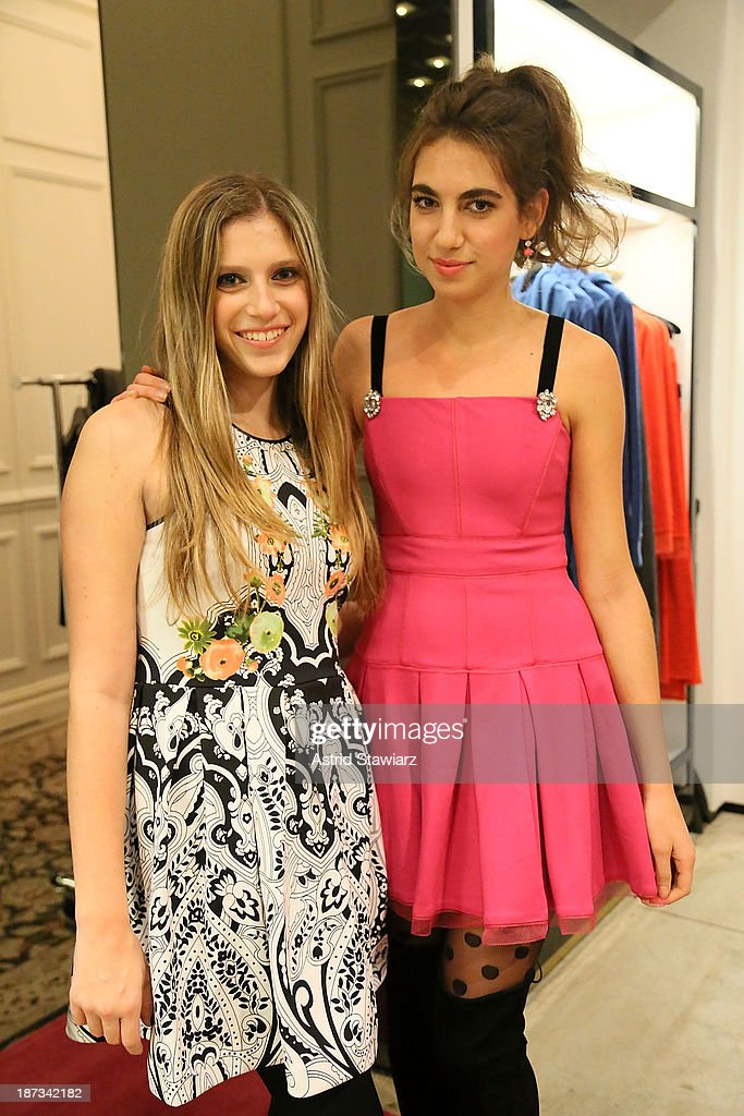 Stephanie Wachtel and Arianna Alexis attend the Vanity Fair & Juicy Couture 'Wild For Gifts' Celebration on November 7, 2013 in New York City.