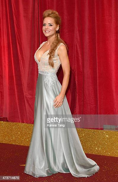 Stephanie Waring attends the British Soap Awards at Manchester Palace Theatre on May 16 2015 in Manchester England