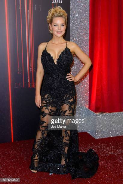 Stephanie Waring attends the British Soap Awards at The Lowry Theatre on June 3 2017 in Manchester England