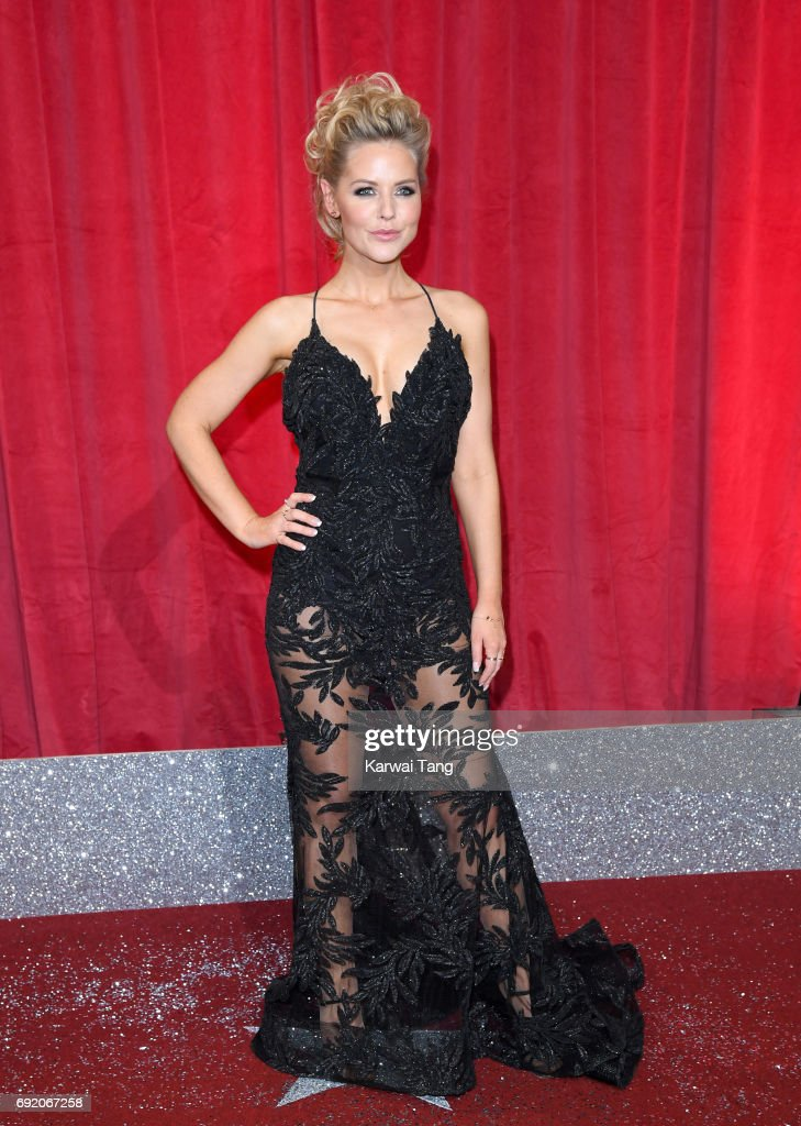 Stephanie Waring attends the British Soap Awards at The Lowry Theatre on June 3, 2017 in Manchester, England.