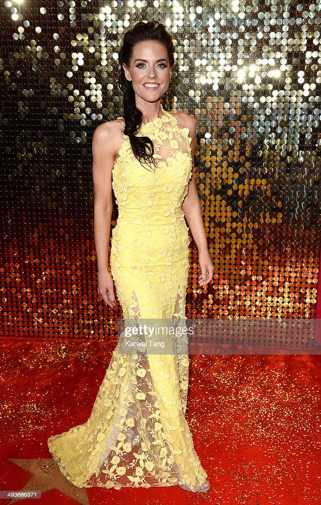 Stephanie Waring attends the British Soap Awards held at the Hackney Empire on May 24, 2014 in London, England.