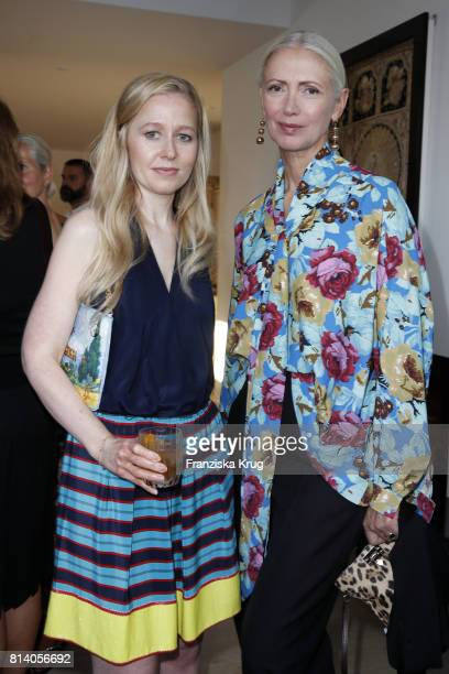 Stephanie Watine Arnault and Christiane Arp during the Clos19 dinner on July 13 2017 in Munich Germany