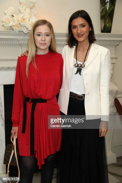 Stephanie Watine Arnault and Hikari Yokoyama attend the Clos19 Launch Dinner #Clos19Moments on May 8 2017 in London England