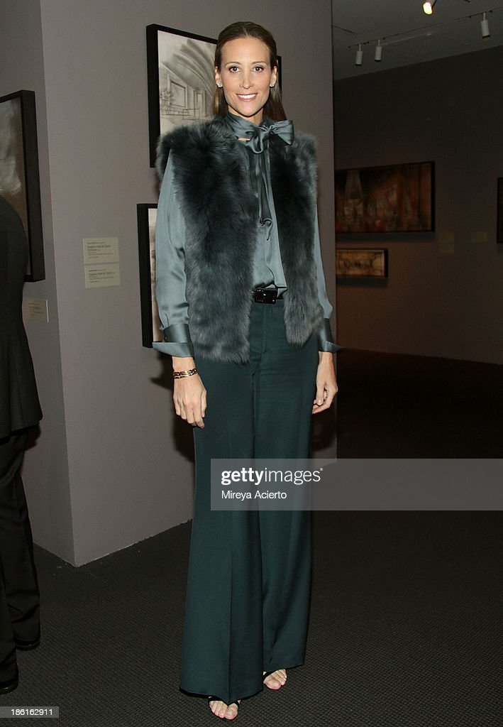 Stephanie Winston Wolkoff arrives as Ralph Lauren Presents Exclusive Screening Of Hitchcock's To Catch A Thief Celebrating The Princess Grace Foundation at MoMA on October 28, 2013 in New York City.