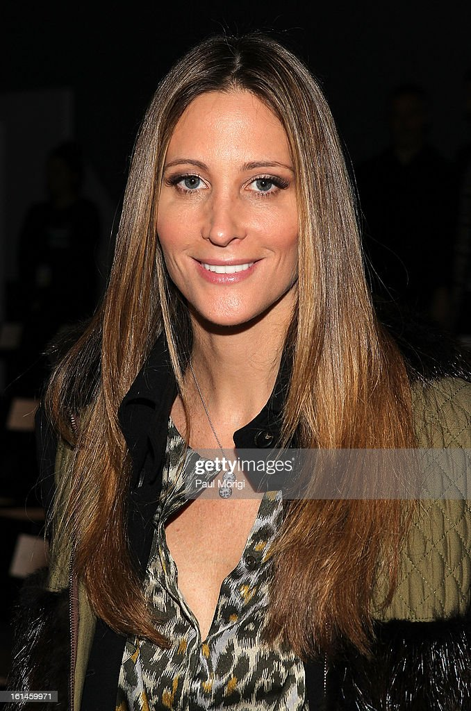 Stephanie Winston Wolkoff attends ICB By Prabal Gurung during Fall 2013 Mercedes-Benz Fashion Week at The Studio at Lincoln Center on February 11, 2013 in New York City.